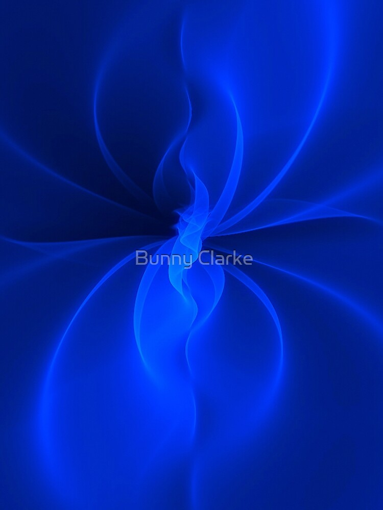 Blue Silk by BunnyClarke