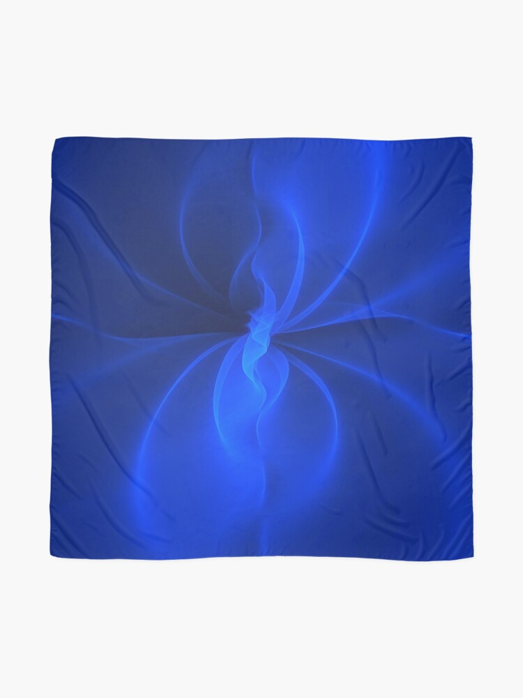 Alternate view of Blue Silk Scarf