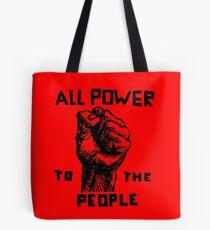 Alle Macht an die Menschen Tote Bag