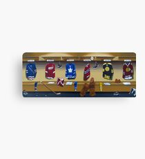 nhl original 6 painting Canvas Print