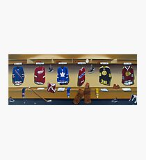 nhl original 6 painting Photographic Print