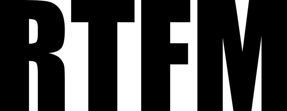 RTFM by devtee