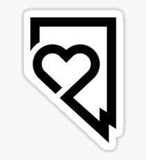 Nevada Love Sticker Sticker
