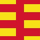 Northumberland Flag Phone Cases by mpodger