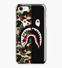 left half shark iPhone Case/Skin