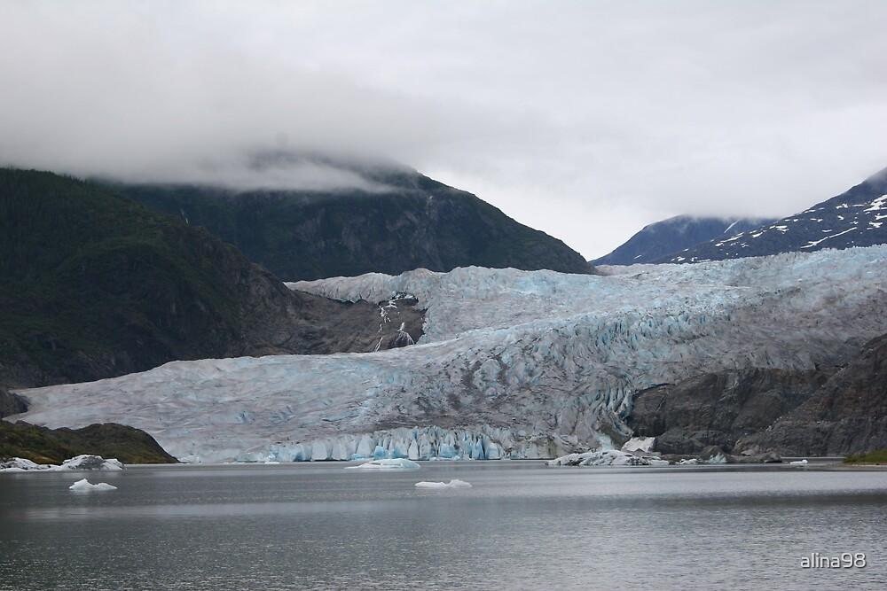 Mendenhall Glacier in Alaska by alina98