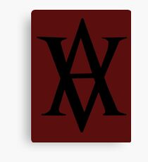 Vampire Academy Logo Canvas Print