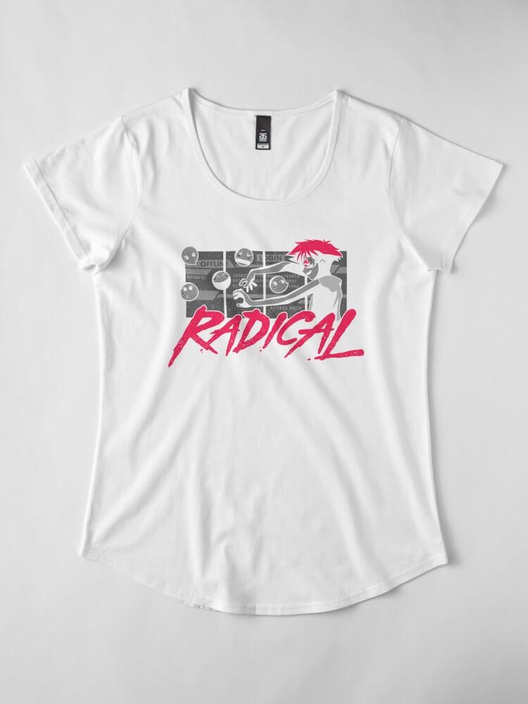 Alternative Ansicht von Radikaler Edward Premium Rundhals-Shirt