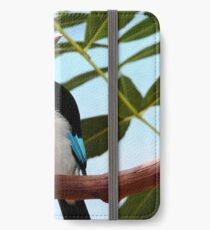 Blue-Breasted Kingfisher iPhone Wallet/Case/Skin