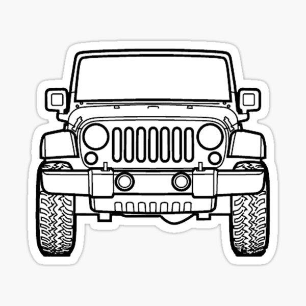 jeep Sticker
