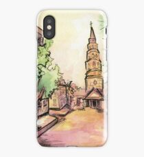 Charleston Streetscape iPhone Case/Skin