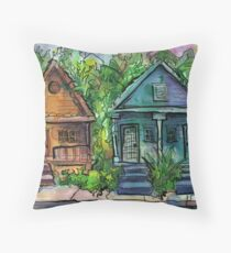 Holy Cross, New Orleans Throw Pillow