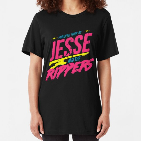 Jesse and the Rippers: Forever Tour 89' Slim Fit T-Shirt