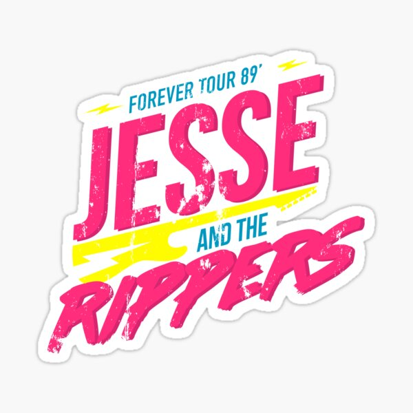 Jesse y los destripadores: Forever Tour 89 ' Pegatina
