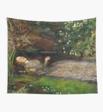 Ophelia Ölgemälde von Sir John Everett Millais - Hamlet - Spielen Wandbehang