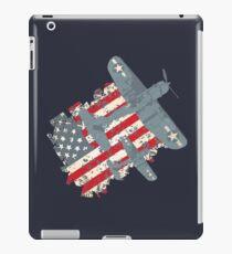 USA Pacific War Air Force Patriot iPad Case/Skin