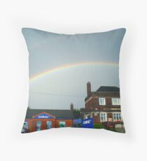 Two pots of Gold? Throw Pillow