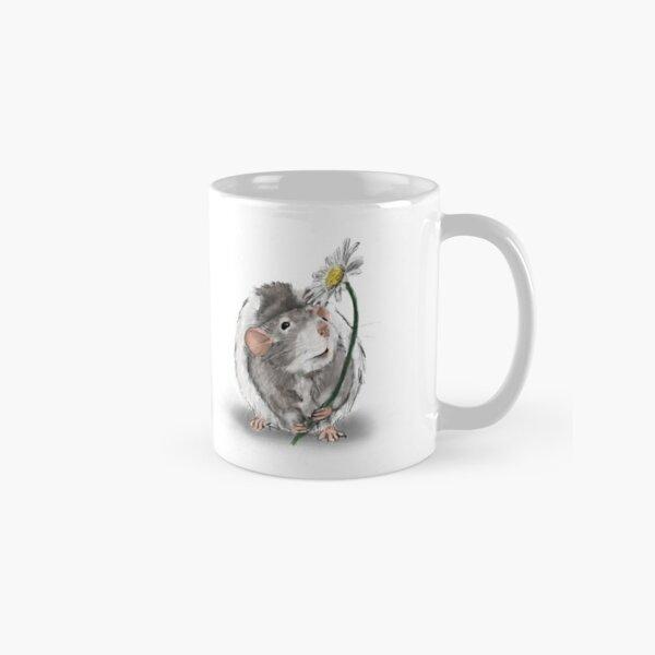 A Rat and a Daisy Classic Mug