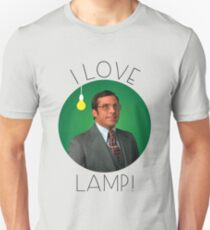 I Love Lamp Unisex T Shirt