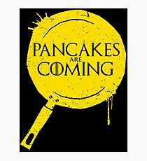 Pancakes Are Coming Photographic Print
