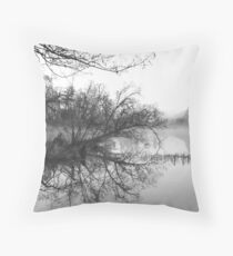 Untergangsidylle - Idyll of Demise Throw Pillow
