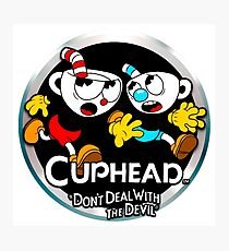 Cuphead - Don't Deal With The Devil Photographic Print