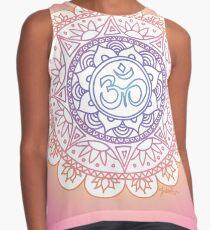 Peaceful Ohm Mandala Design Contrast Tank