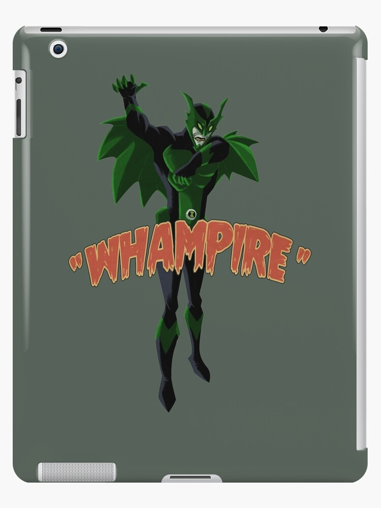 ben10 monster whampire ipad cases skins by rubtox redbubble