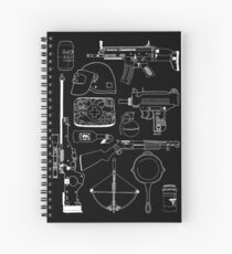 Playerunknown's Battlegrounds The Arsenal - PUBG White Spiral Notebook
