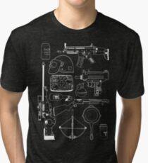 Playerunknown's Battlegrounds The Arsenal - PUBG White Tri-blend T-Shirt