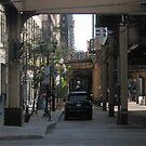 Big City Street on a Sunday Afternoon #1 by psphotogallery
