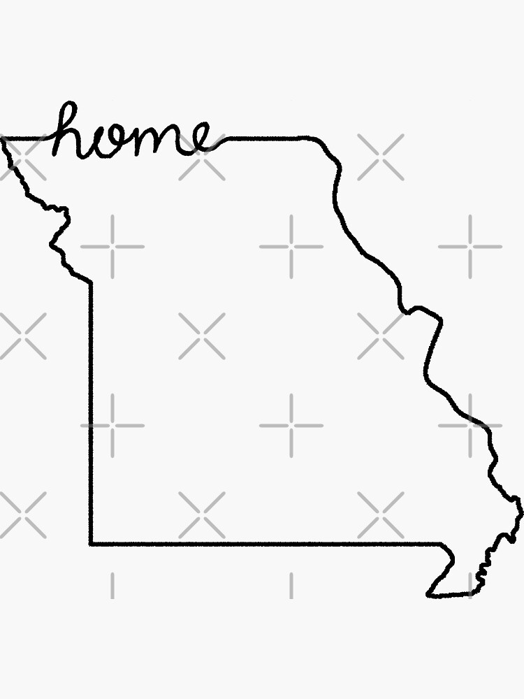 Missouri Home State Outline by jamiemaher15