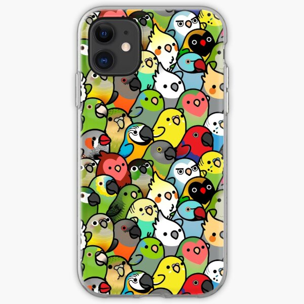 Everybirdy Pattern iPhone Soft Case