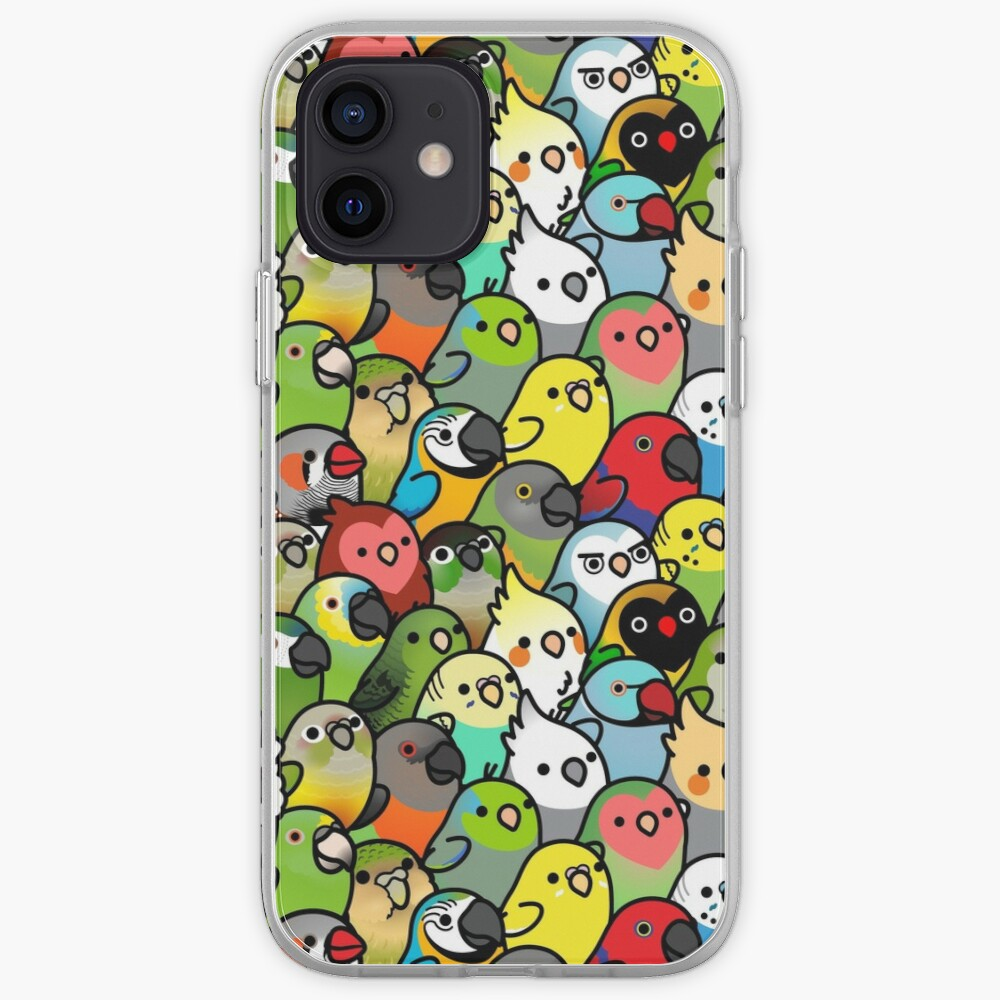Everybirdy Pattern iPhone Case & Cover