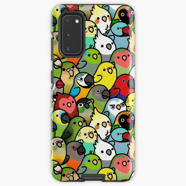 Everybirdy Pattern Samsung Galaxy Tough Case
