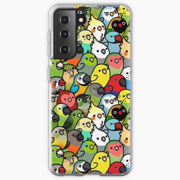 Everybirdy Pattern Samsung Galaxy Soft Case