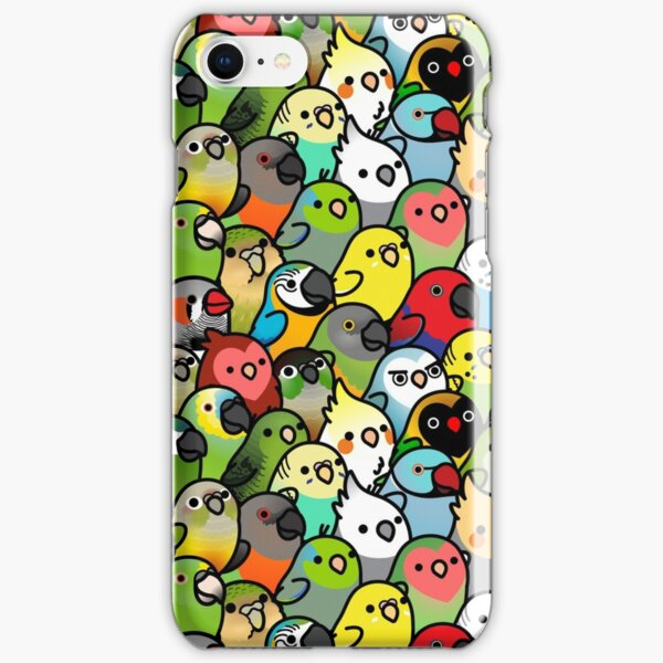 Everybirdy Pattern iPhone Snap Case