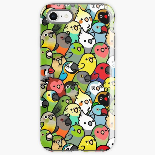 Everybirdy Pattern iPhone Tough Case