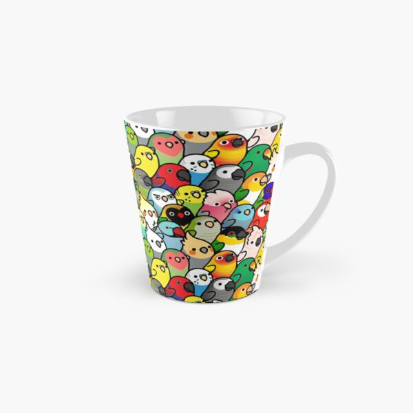 Everybirdy Pattern Tall Mug