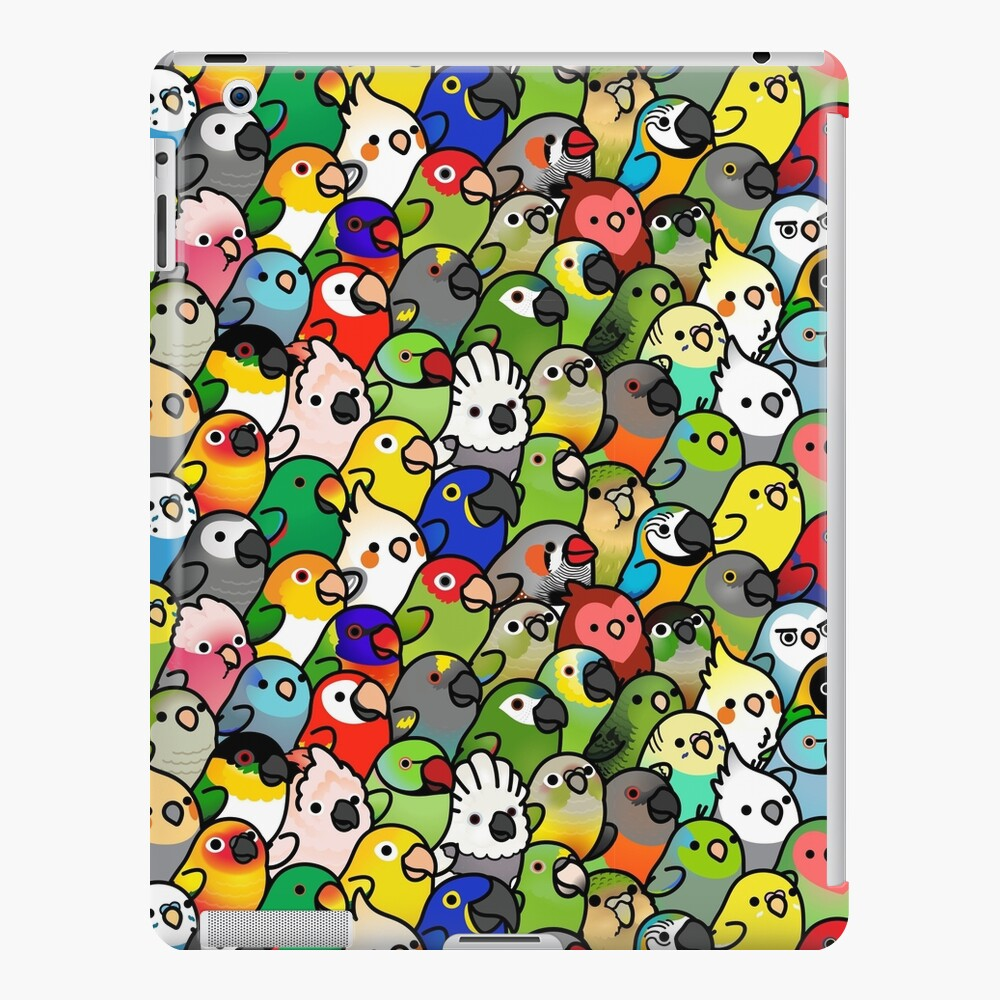 Everybirdy Pattern iPad Case & Skin