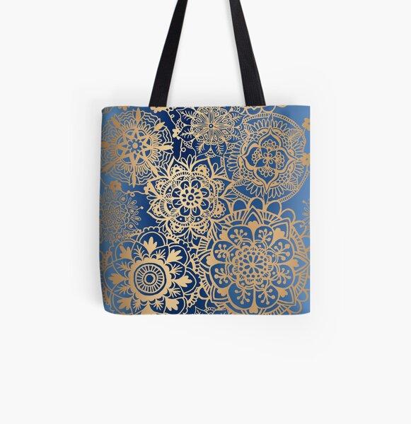 Mandala design Bag Lotus Mandala Bag Mandala bag Mandala pattern bag Geometric Bag Mandala motif bag Mandala Print Bag Circle Bag