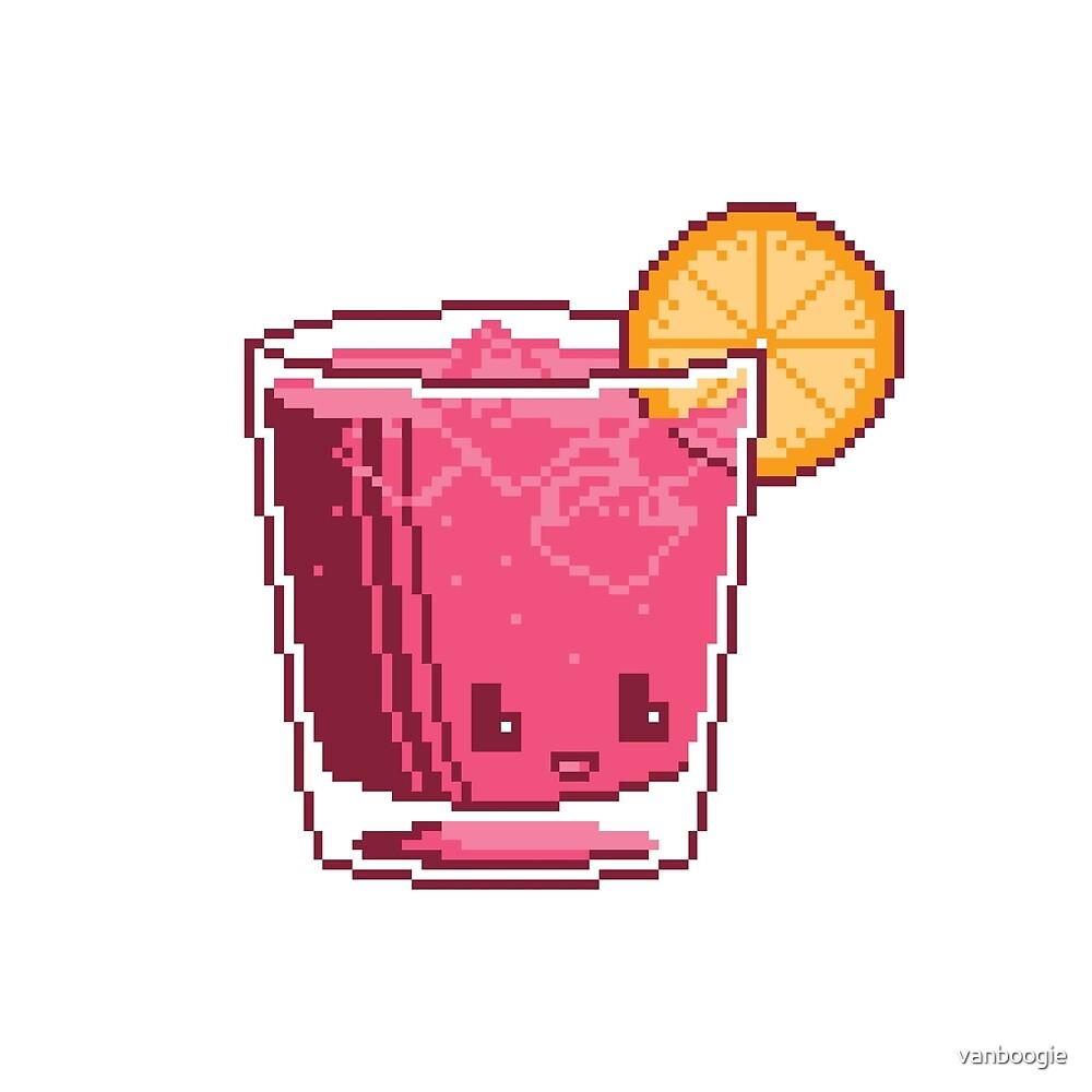 Pixel Margarita by vanboogie