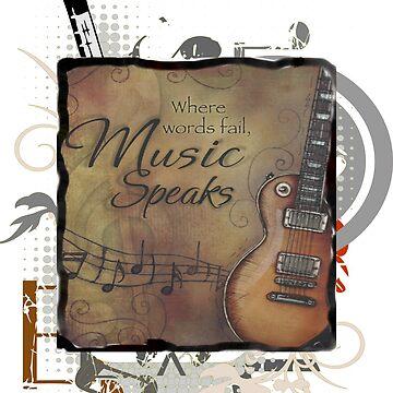 Where Words Fail, Music Speaks by RDGGlobal