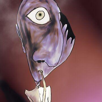 Mr.Teardrop was caught smoking by MartianChild