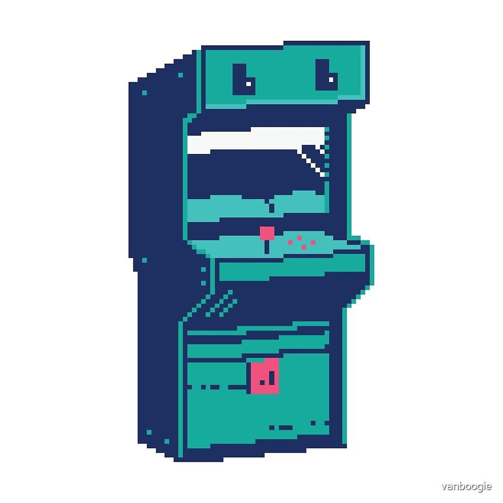Pixel Arcade by vanboogie