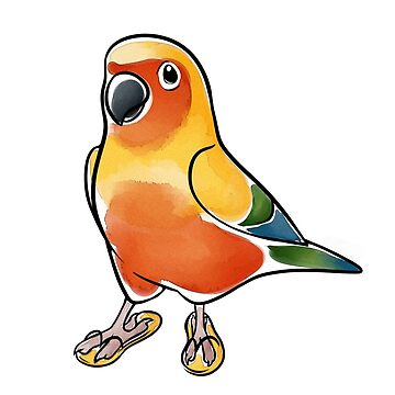 Sand and Sun Conure by KeesKiwi