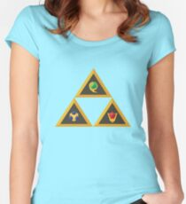 Tri-Goddess Women's Fitted Scoop T-Shirt