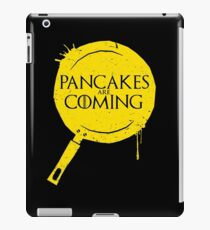 Pancakes Are Coming iPad Case/Skin