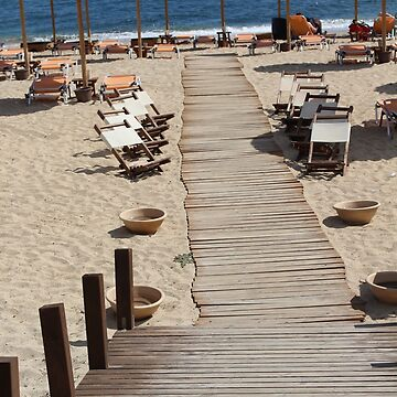 Kefalonian Beach by durzarina