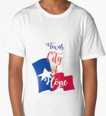 Texas City of Hope Long T-Shirt
